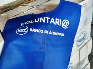 Jóvenes Voluntarios en la Gran Recogida de Alimentos de BANCOSOL