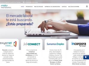 Éxito de los Programas de Empleo de MERIDIANOS en 2019